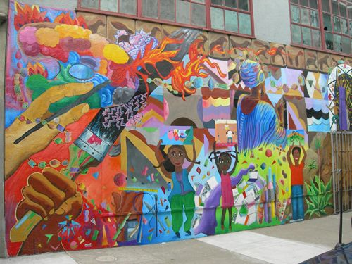 Community themed murals we define murals what is for Definition for mural