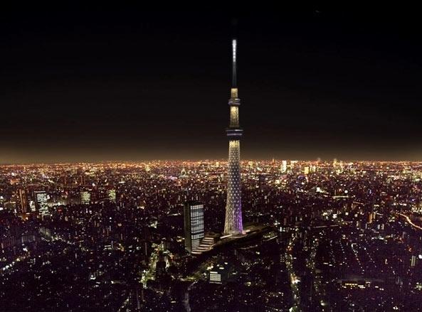Tokyo sky tree open in 5/22'12