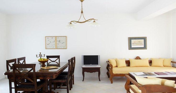 "Discover Villa ""Kedros Exclusive"", Naxos, Greece ! You can rent it ! #luxury #villa #rent #holidays #greece #vacances #grece #alouer #aroomwithaview #sea #bedroom #decoration #swimmingpool #beautiful #sunset #luxuryvilla"