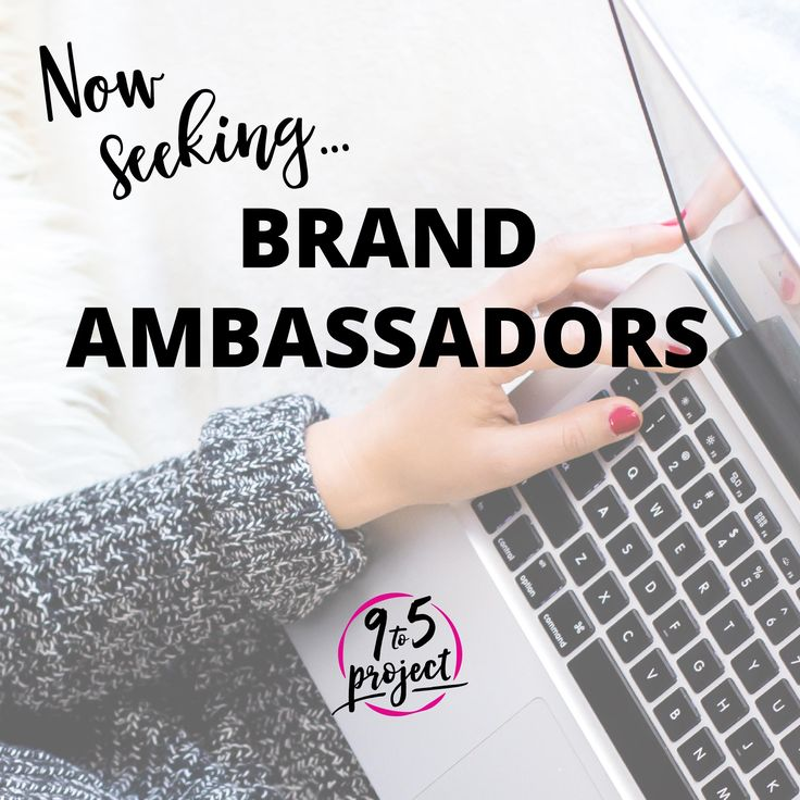 Now seeking brand ambassadors! We help women realize their potential and land the job of their dreams. Join us as a BA to help us get the word out and you'll receive FREE services! Apply now at www.9to5project.com/brand-ambassadors/