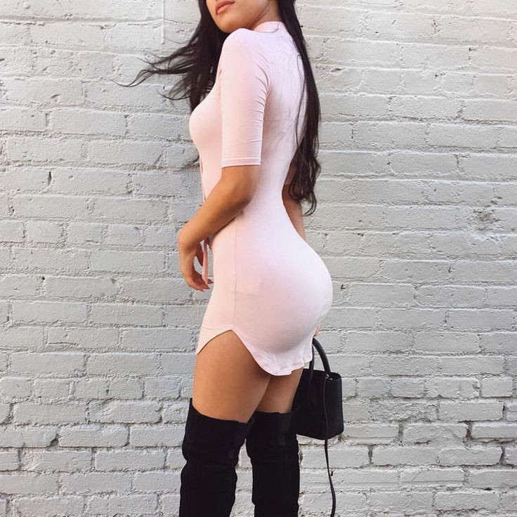 Sexy dressed butt shots
