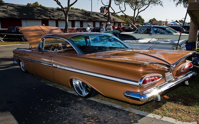 1959 Chevrolet Impala Ht Mod Brown Metallic Rvl