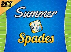 summer spades games