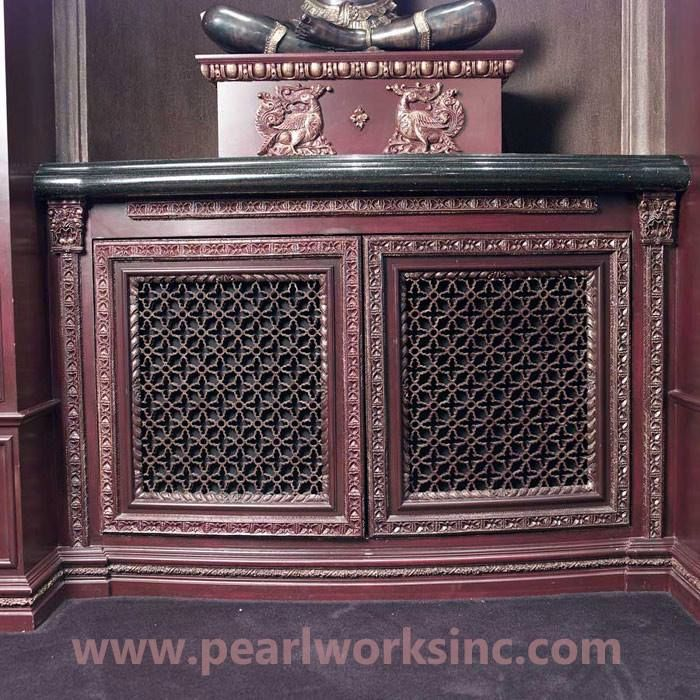 Here is how Pearlworks can convert a simple AC vent into an elegant-looking cabinetry framing with artistic designs:  http://www.pearlworksinc.com/photo-g…/ac-vents-and-vent-uses #classical #furniture #design #vents #art #ornate #architecture #ornamentation #awesome #frames #home #decor #interiordesign #flexible #pearlworks #mouldings #grilles