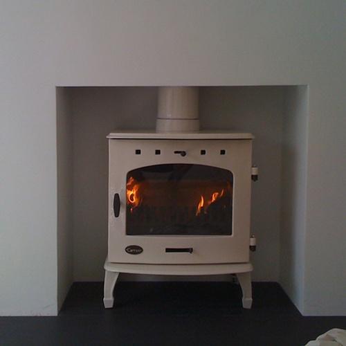 clean and simple woodburner