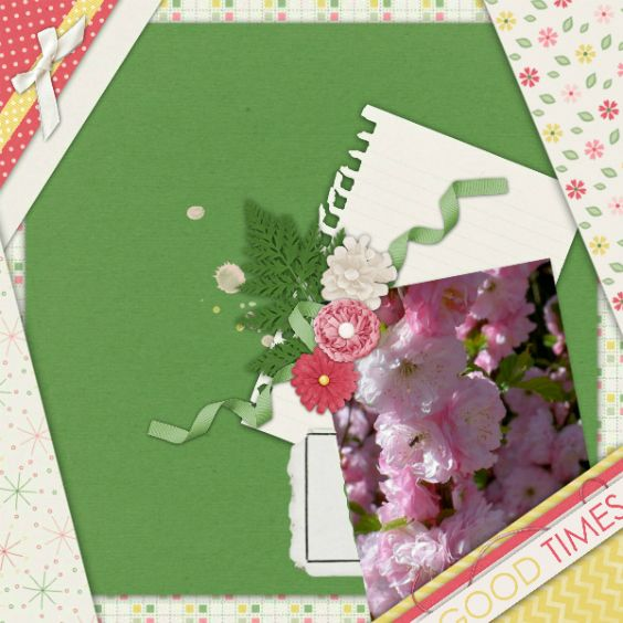 Created with Good times mini kit by Blue Heart Scraps.