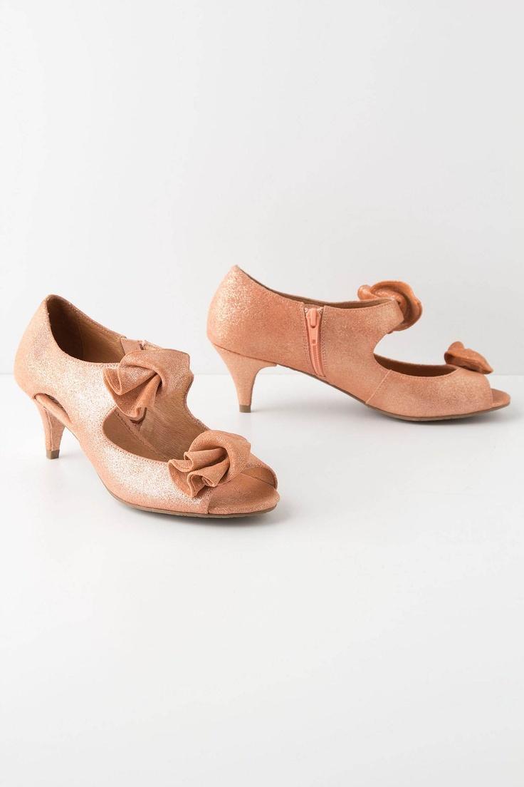 Tied Calla Kitten Heels - Anthropologie.com    YUM!