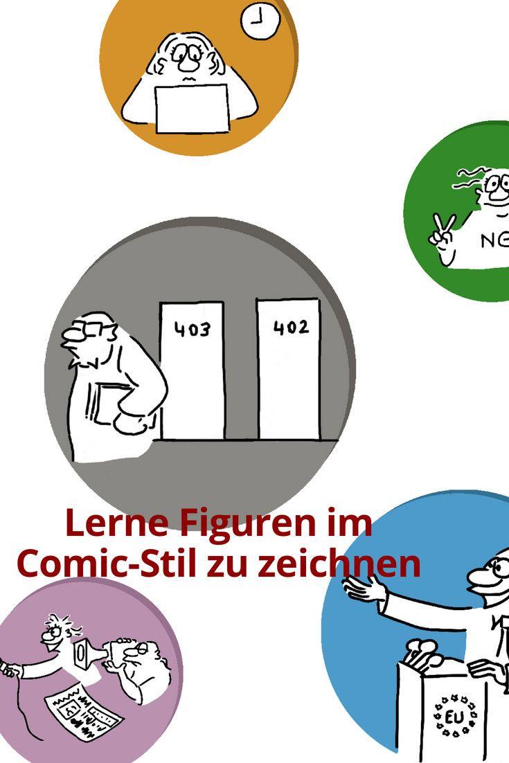 Figuren Im Comic Stil Zeichnen Flipchart Profi Tipp 3 Du Mochtest Gerne Kreativ Einzigartig Prasentieren Deinen Eigenen Unverwechsel Comic Zeichnen Figur