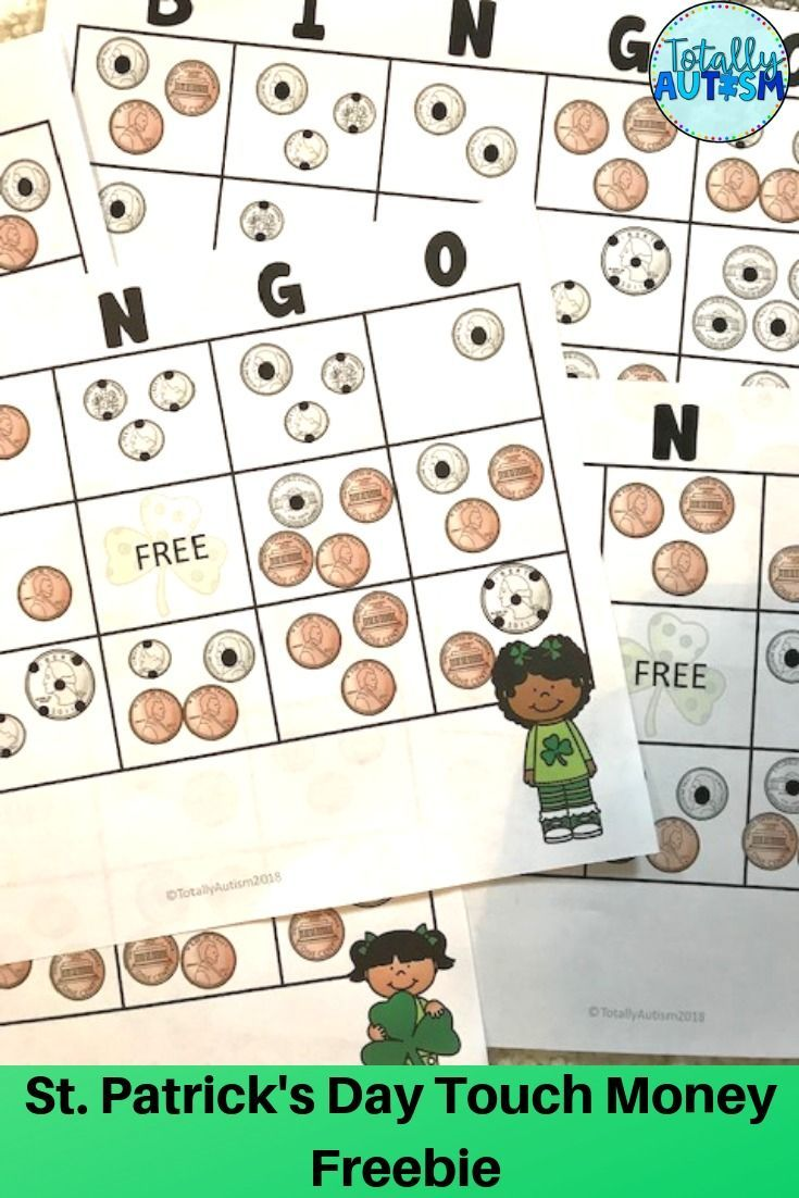 St Patrick S Day Money Games Money Games Touch Math Easter Teaching [ 1102 x 735 Pixel ]