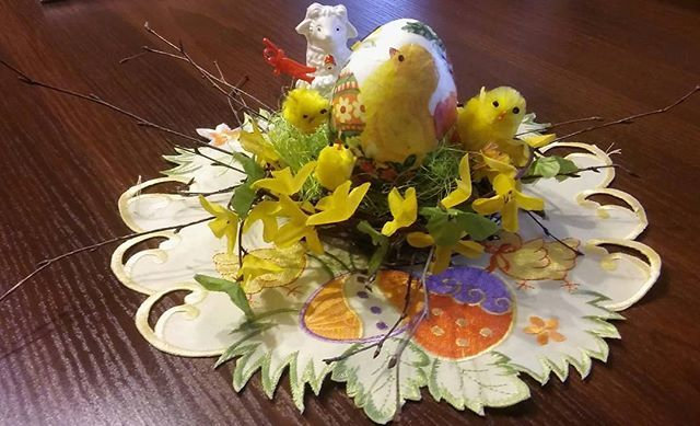 #pisanki #wielkanoc #jajka #koszyczek #serwetki #serwetkowykoszyk #handmade #wiosna #springdecor #eastereggs #eastertime #easter #diy #kurczaczek #kurczak