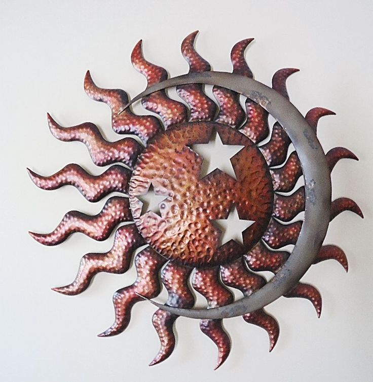 Extra Large Metal Wall Art 333 best sun, moon, & stars images on pinterest | sun moon stars