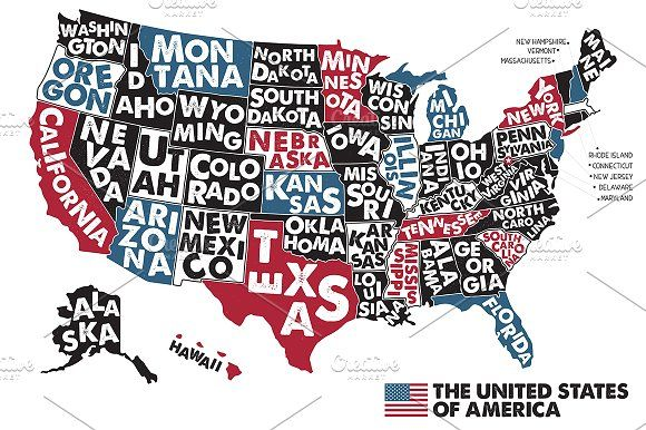 Poster Map Of Usa Usa Map Map Poster North America Map