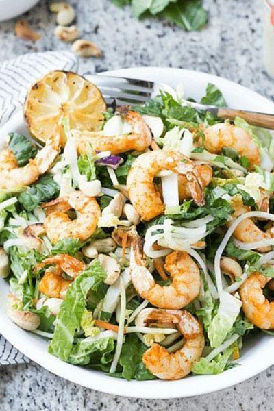 Thai Shrimp Salad | Wicked Spatula
