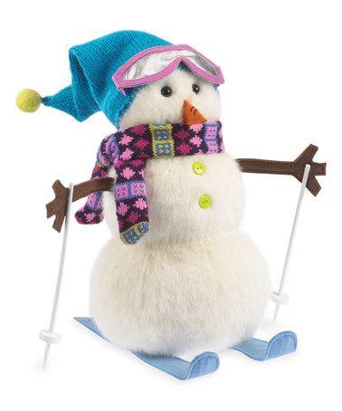 Look what I found on #zulily! Winter Wonderland Plush Snowman #zulilyfinds