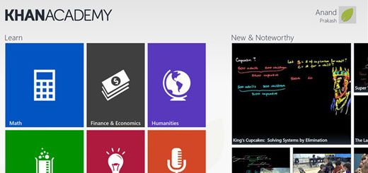 The Khan Academy Windows 8 Best Education App - App Review