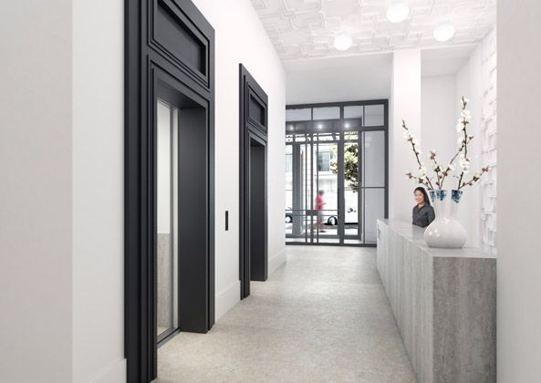 COLOUR WELL PLACED #black #door | 'HUYS' New York Condominiums | Piet Boon®