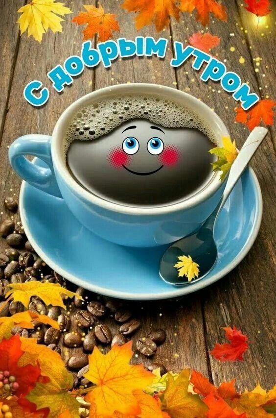 Открытки с добрым утром позитивные и прикольные