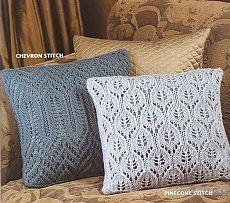 Ажурные вязаные подушки, схемы / Декоративные подушки своими руками, фото. Коврики и одеяла. Шитье и вязание крючком и на спицах / КлуКлу. Рукоделие - бисероплетение, квиллинг, вышивка крестом, вязание