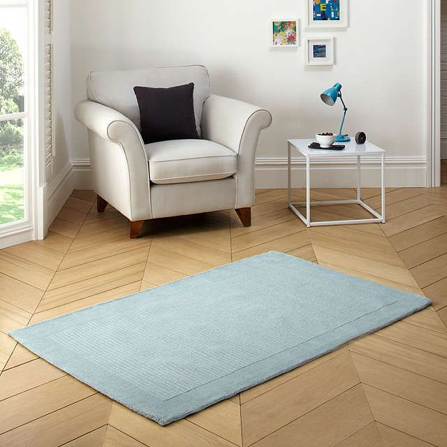BuyJohn Lewis Perth Rug Duck Egg L170 X W110cm Online At Johnlewis