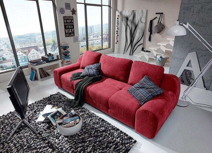Die besten 25+ Sofa rot Ideen auf Pinterest Rotes sofa, Rote - wohnzimmer gestalten rot