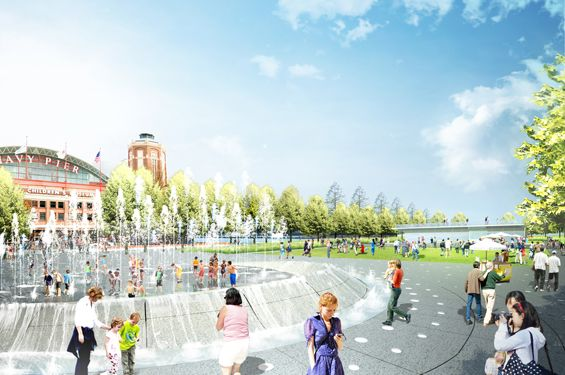 Detailed design for Navy Pier unveiled « World Landscape Architecture – landscape architecture webzine