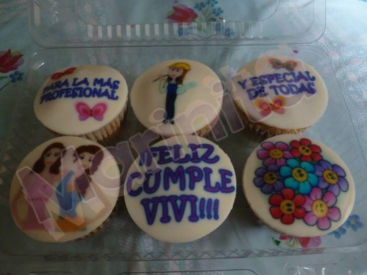 Cupcakes personalizados de cumpleaños!!!