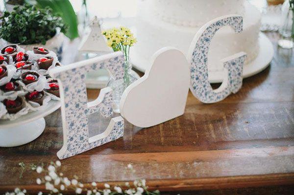 decoracao casamento rustico azul e amarelo: Casamento, Casamento Decoração, Bridal Shower, Casamento Provence