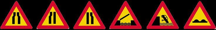 σηματα κοκ - Όλα τα σήματα του ΚΟΚ - πινακίδες αναγγελίας κινδύνου 2