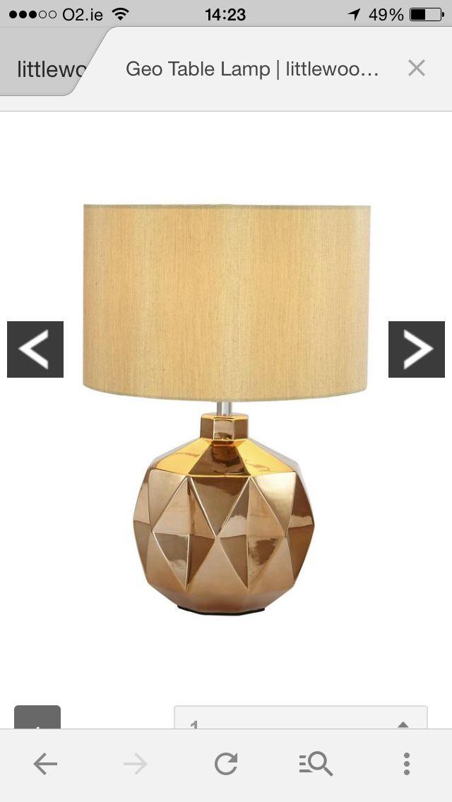 Pair of lamps bedroom