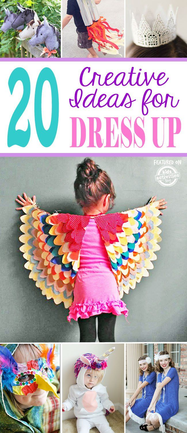 Top 20 Super Simple Dress Up Ideas