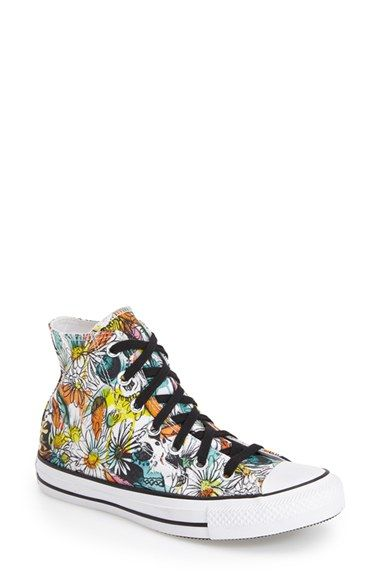DAISY!!!!! Converse Chuck Taylor® All Star® 'Floral' High Top Sneaker (Women) available at #Nordstrom