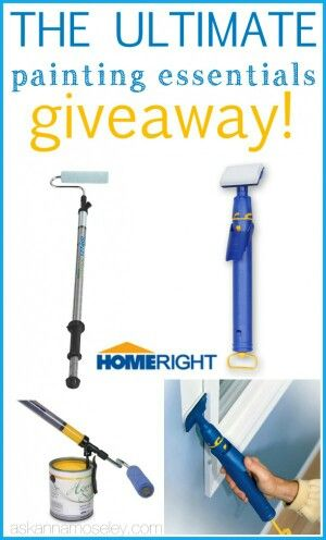 Homeright paint stick give away