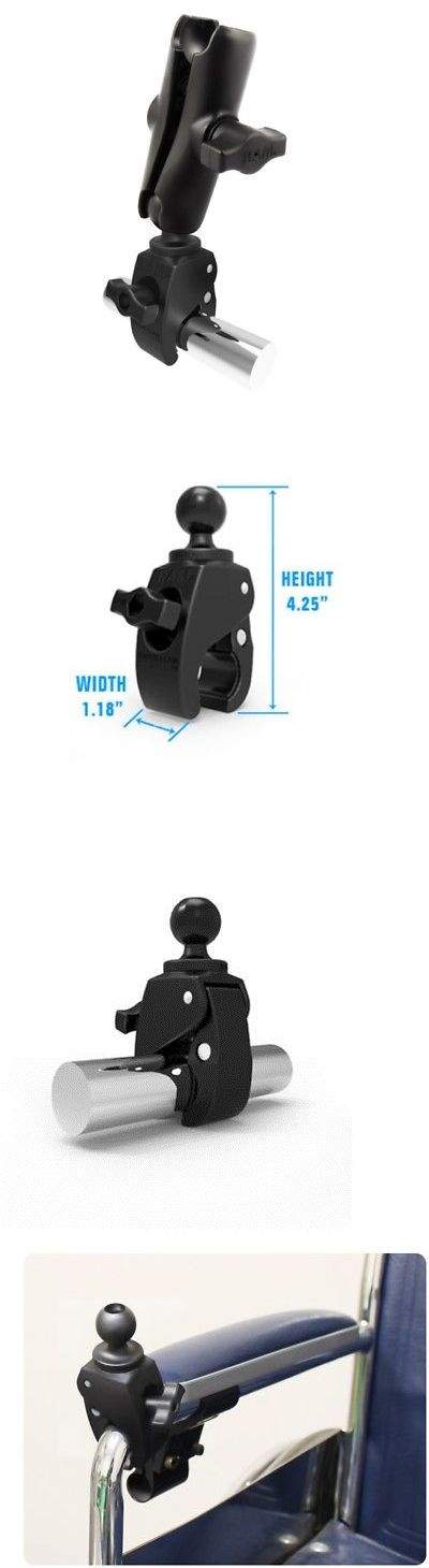 GPS Holders and Mounts: Rap-B-400-201U Ram Small Tough-Claw Base W Double Socket Arm -> BUY IT NOW ONLY: $36.49 on eBay!