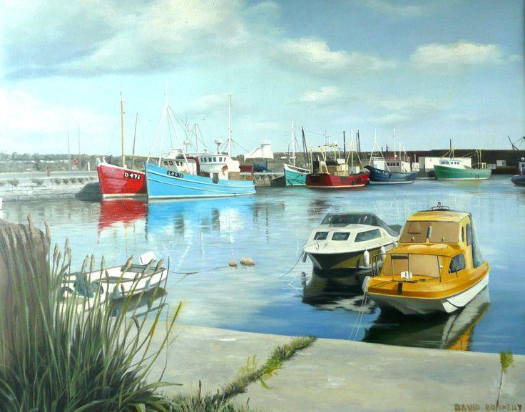 Boats in Balbriggan Harbour