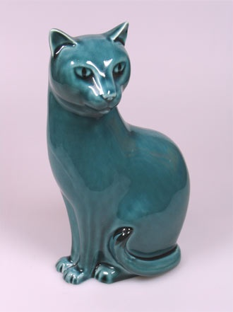 135 Best Poole Pottery Cat Images On Pinterest Figurine
