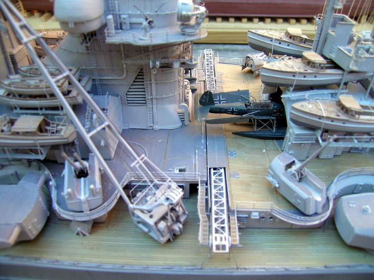 Ship Models - German Ships - Bismarck - Peter Beisheim