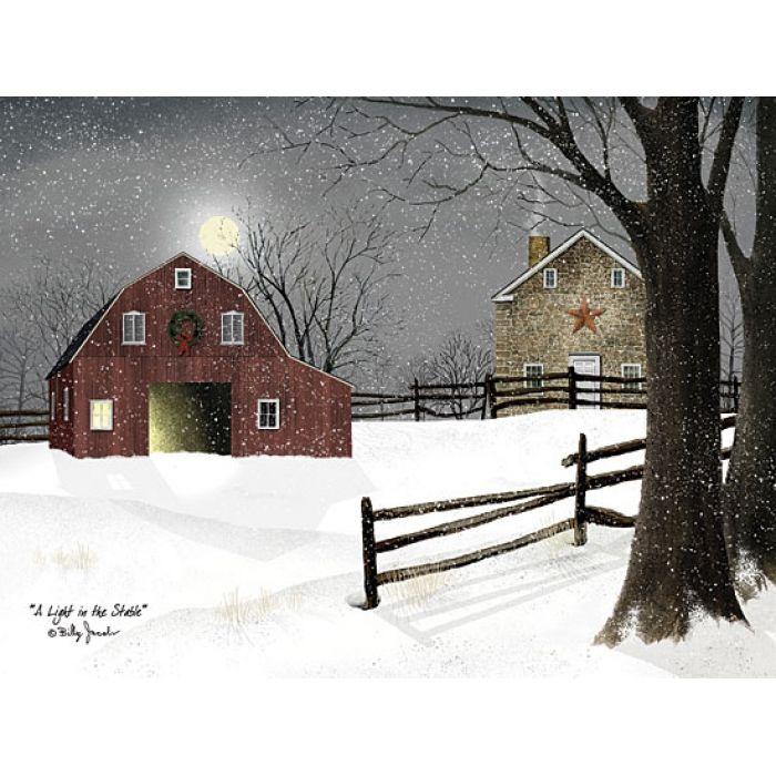 A Light in the Stable by Billy Jacobs