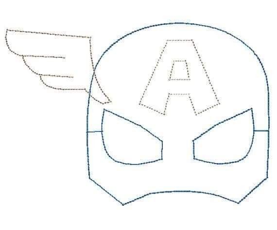 Pin De Roxana Villalba En Tematicos Mascaras De Superheroes Manualidades De Superheroes Molde Antifaz