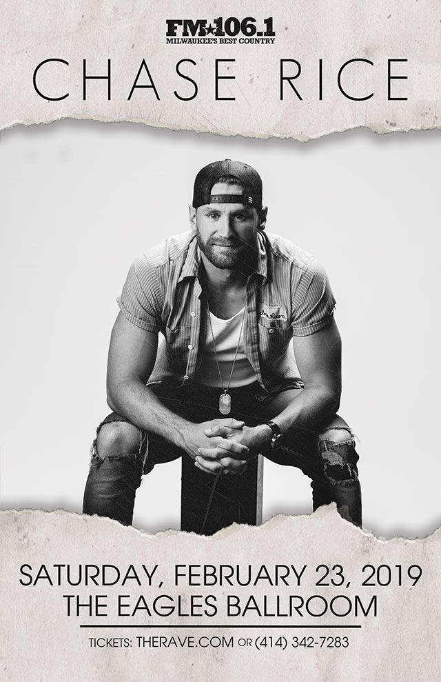 Fm 106 1 Presents Chase Rice With Muscadine Bloodline