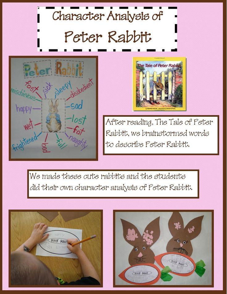 Golden Gang Kindergarten: The Tale of Peter Rabbit character analysis