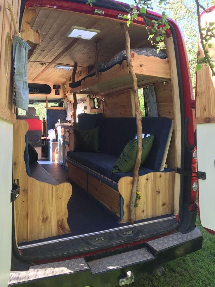 Wohnmobil mieten skurrile Wohnmobile Home of Handmade Camper – Zimmerei Ideen