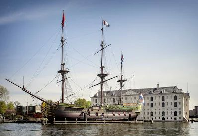 Amsterdam - (Ship replica)