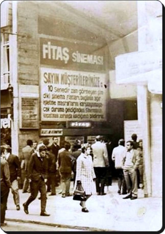 Fitaş sineması İstiklal caddesi - 1970'ler
