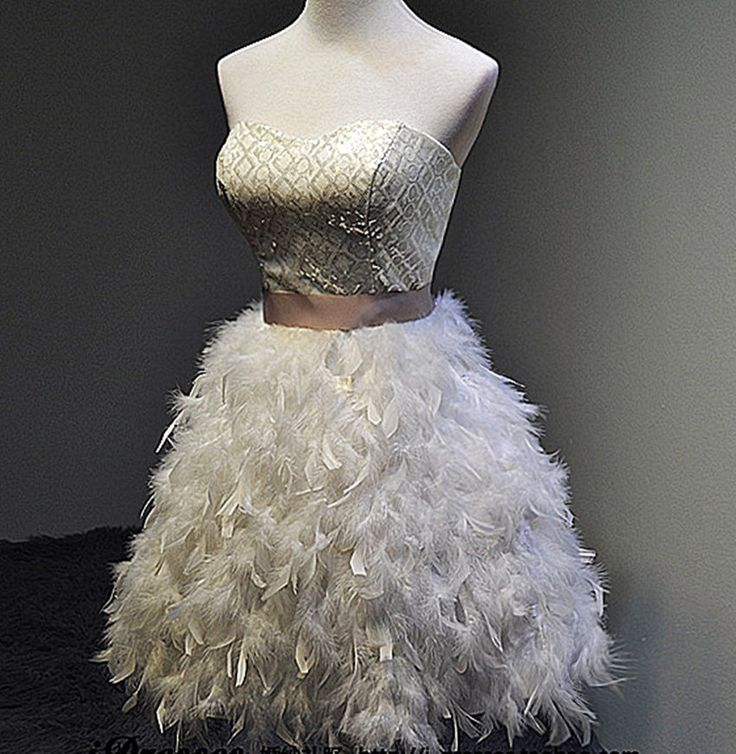 Blush Wedding Dress With Feathers : Best ideas about hairy chest on men