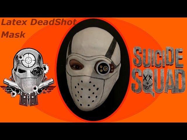 Casting A Latex Deadshot Mask For NY Comic-Con 2016 - Video --> http://www.comics2film.com/casting-a-latex-deadshot-mask-for-ny-comic-con-2016/  #Comic-Con