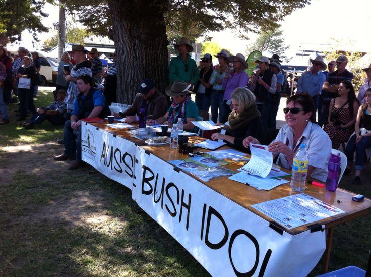 Bush idol www.megasmusic.com.au