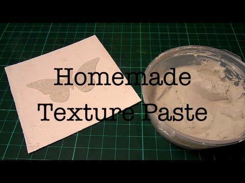 ▶ Текстурная Паста Своими Руками/ Homemade Texture Paste - YouTube