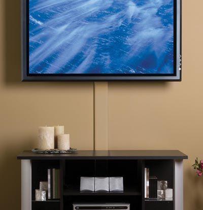 Flat Screen TV Cord Cover Kit, CMK30
