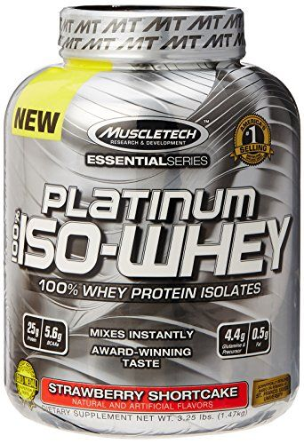 MuscleTech Platinum 100% ISO Whey 100% Whey Protein Isolates Powder Strawberry Shortcake 3.25 lbs (1.47kg) For Sale https://probioticsforweightloss.co/muscletech-platinum-100-iso-whey-100-whey-protein-isolates-powder-strawberry-shortcake-3-25-lbs-1-47kg-for-sale/