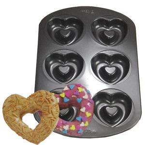 Heart Doughnut Pan | Valentine donuts - Kitchen Krafts